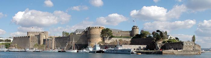 Le chateau de Brest