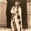 Nez Perce Chief Joseph. 1901. Photo by Lee Moorhouse. Source - University of Washington Libraries.jp