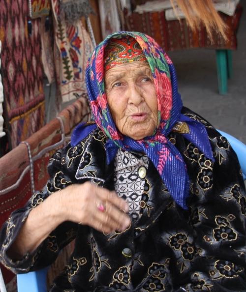 Dans les coupoles marchandes, à Boukhara