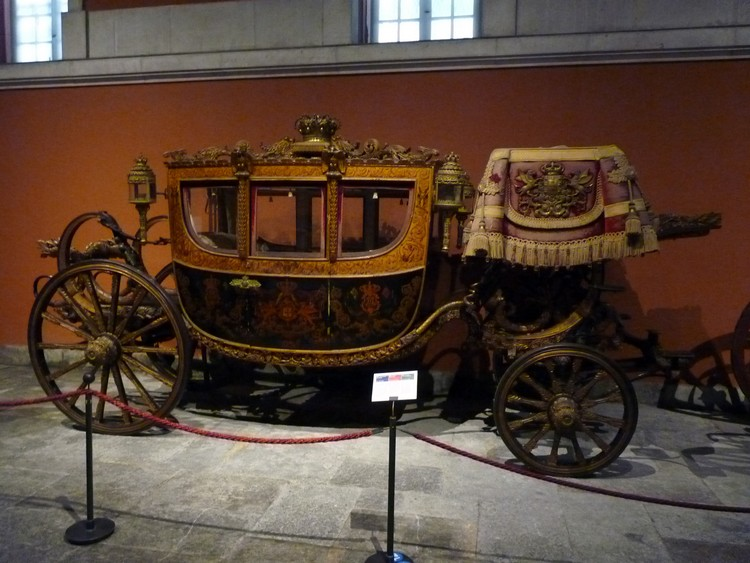 Carrosse de la reine Elizabeth II