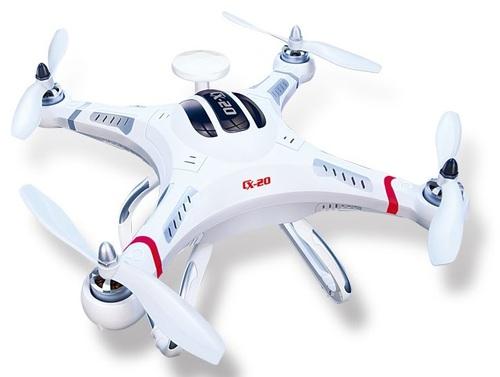 Cheerson CX-20: Gran calidad precio que puede llevar una GoPro