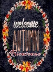 Images Bienvenue automnales