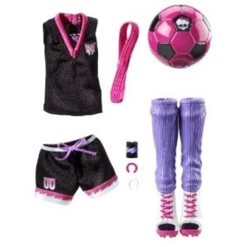 Clawdeen soccer pack