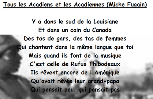 Tous les Acadiens et les Acadiennes