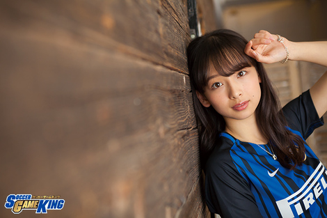 WEB Magazine : ( [SOCCER KING WEB - SGK Media] - |Photo gallery - SOCCER GAME KING - 2018.05 / Vol.75| - Asuka Hanamura )