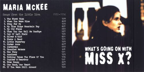 Le Choix des lecteurs # 123: Maria Mc Kee - What's going on with Miss X? (1992-1996)