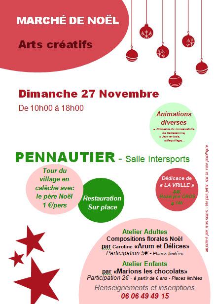 Marché de Noël à Pennautier