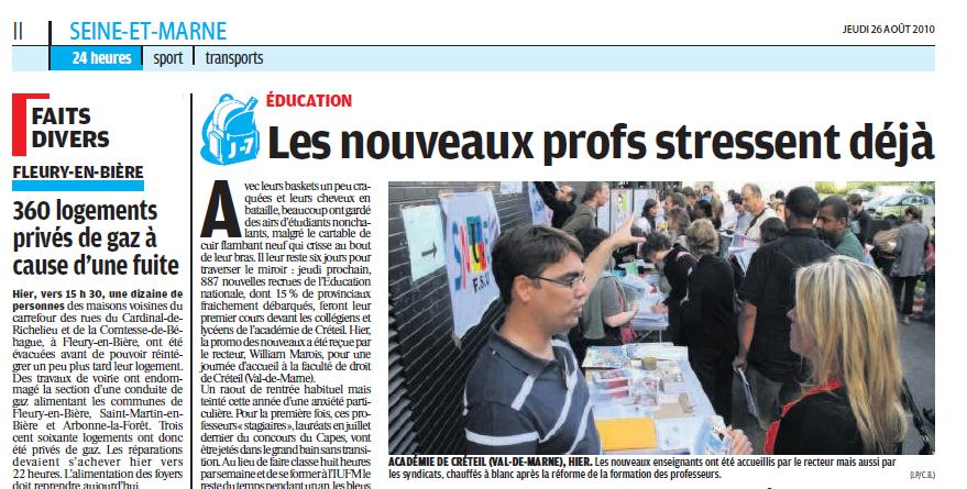 Photo le parisien