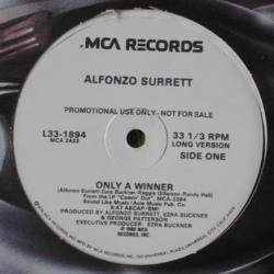 Alfonzo Surrett - Only A Winner