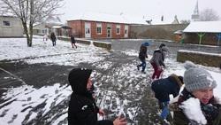 L'école revêt son blanc manteau
