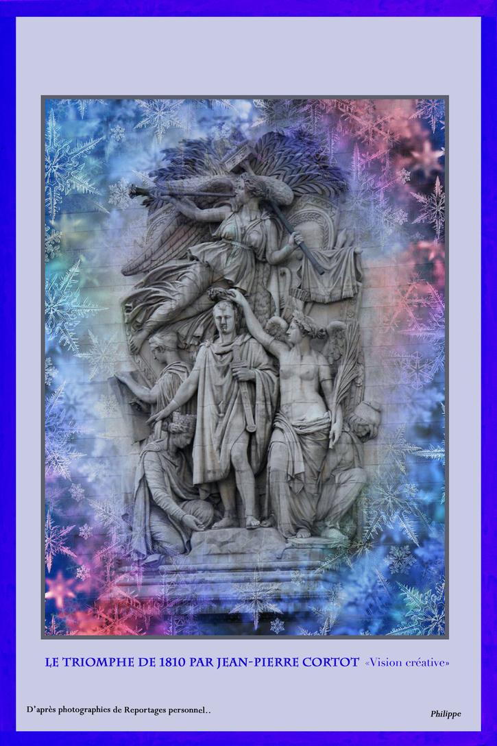 """Exposition Virtuelle: """"Une vision de l'Arc de Triomphe de l'Étoile à Paris"""" de Philippe - Partie 4"""