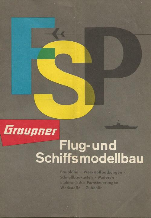 Catalogue FSP de Graupner