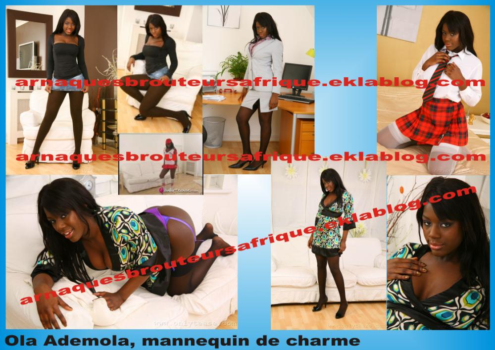 Ola Ademola - photos volées par des brouteurs ivoiriens pour arnaquer