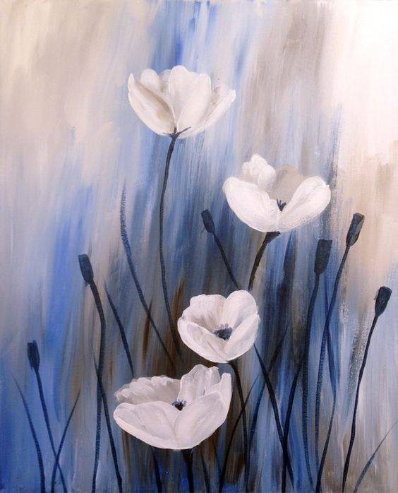 White Poppies | Creatively Uncorked | http://creativelyuncorked.com: