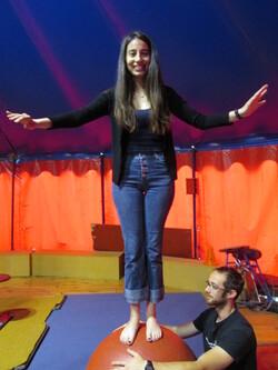 Büsra au cirque