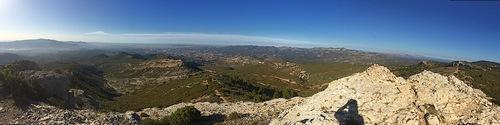 Panoramas dans le Garlaban
