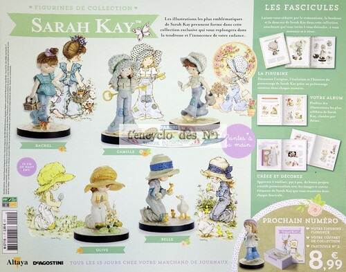 N° 1 Figurines de collection Sarah Kay