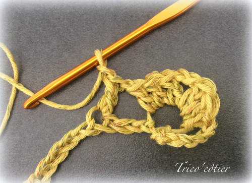 TUTO Echarpe printanière au crochet (spécial débutant)