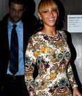 Beyonce sortant du Concert de sa soeur Kick-Off in NYC !