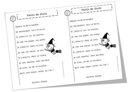 Poèmes d'Halloween, sur les citrouilles, les sorcières, les chats noirs et compagnie ...