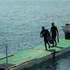 Ile Moucha  Retour de plongée