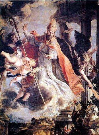 Prière de Saint Augustin pour le repos de l'âme de sa mère
