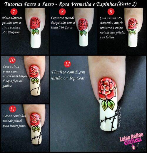 Rosas com espinhos
