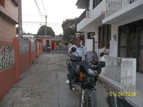De Medellin aux Caraïbes... ou rouler en longeant les cocotiers :)