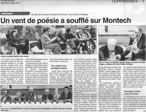 """""""LE PETIT JOURNAL""""  AUSSI PARLE DE NOUS"""