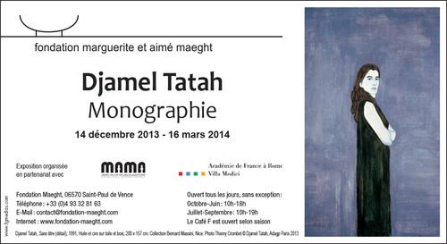 Découverte de l'artiste Djamal TATAH