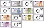 Police monnaie euro