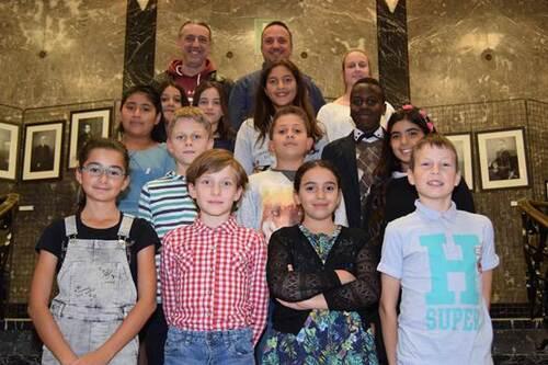 [Etterbeek] Conseil communal des Enfants 2017-2018