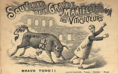 1907 révolte vignerons