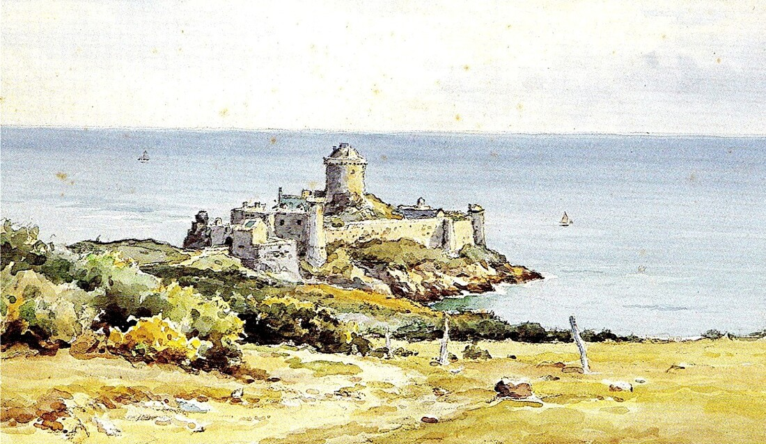 1-La latte , un fort  du 13ème siècle.
