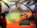 """Exposition à la médiathèque """"Voyage au pays de l'imaginaire"""" 14 novembre 2013"""