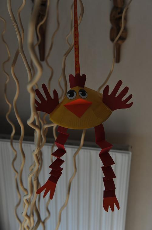Poule de Pâques 3D