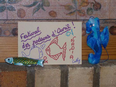 Festival des poissons d'Avril chez Esperluette !!