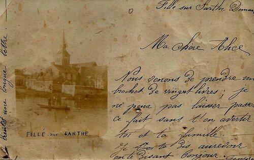 La Belle Epoque - Messieurs Roboam et Loriot respectivement Maires jusqu'en 1908.