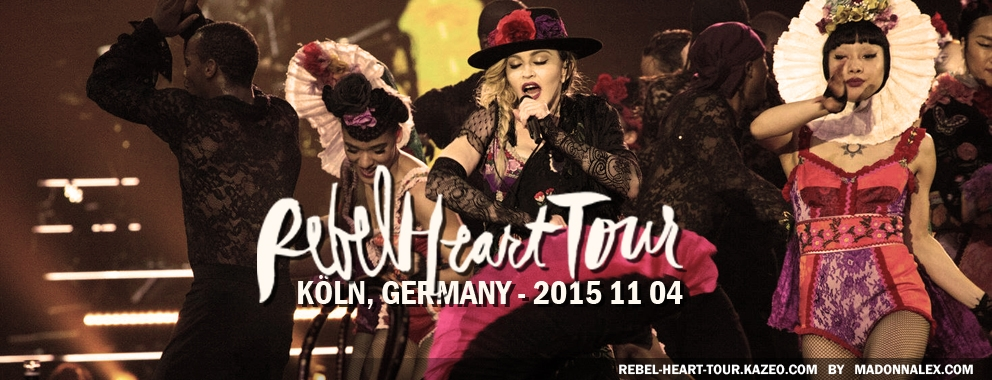 Madonna Rebel Heart Tour Koln 2015 11 04