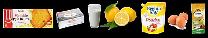 Tarte au citron meringuée sans cuisson