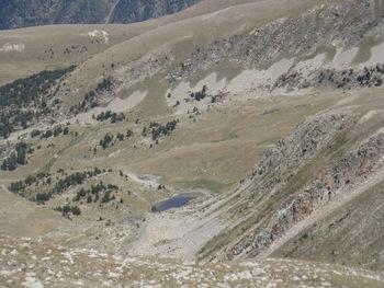 Zoom sur un lac côté andorran