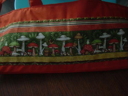 SAC à TARTES: Elfes , champignons