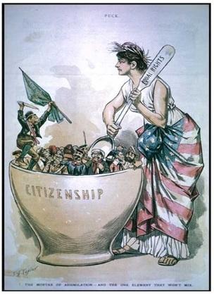 La Révolution industrielle : L'émigration irlandaise au XIXe siècle.