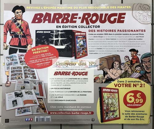 N° 1 Collection BD Barbe-Rouge - Lancement