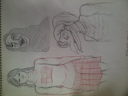 Doodles du soir : Yume Nikki