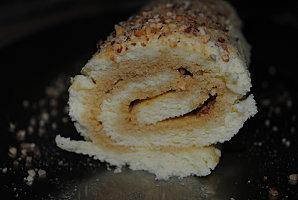 Biscuit roulé au sirop d'érable et pralin