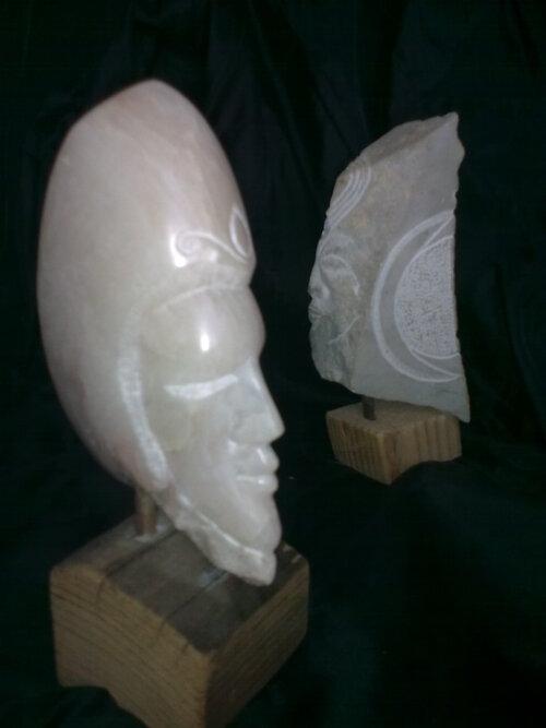 Zahra des Champs, sculptrice à Bugarach, Aude