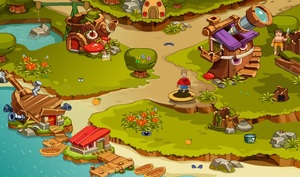 Jouer à Fastrack Games - Lost in nowhere land 2