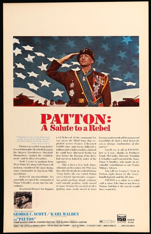 PATTON BOX OFFICE USA 1970