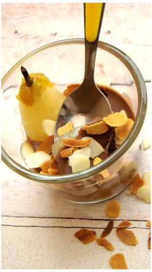 PANACOTTA POIRE CHOCOLAT